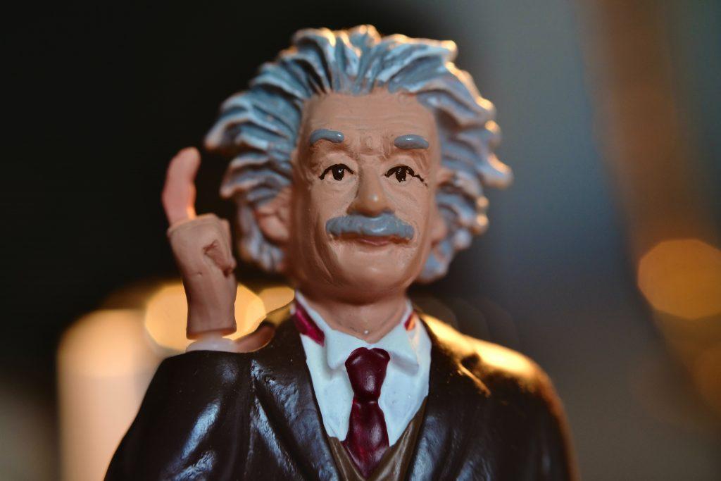 Einstein applied to anxiety