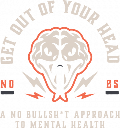 get out of your head brand website header